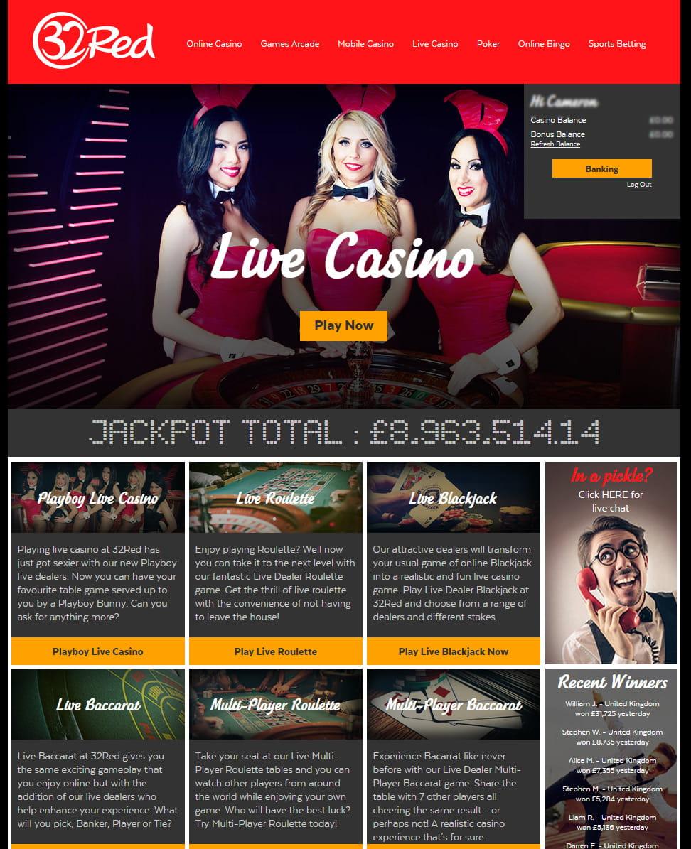32 red casino 10 free