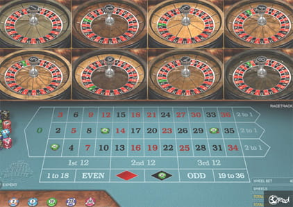 Play Multi Wheel Roulette Online at Casino.com UK