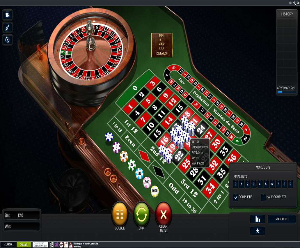 online casino uk roulette