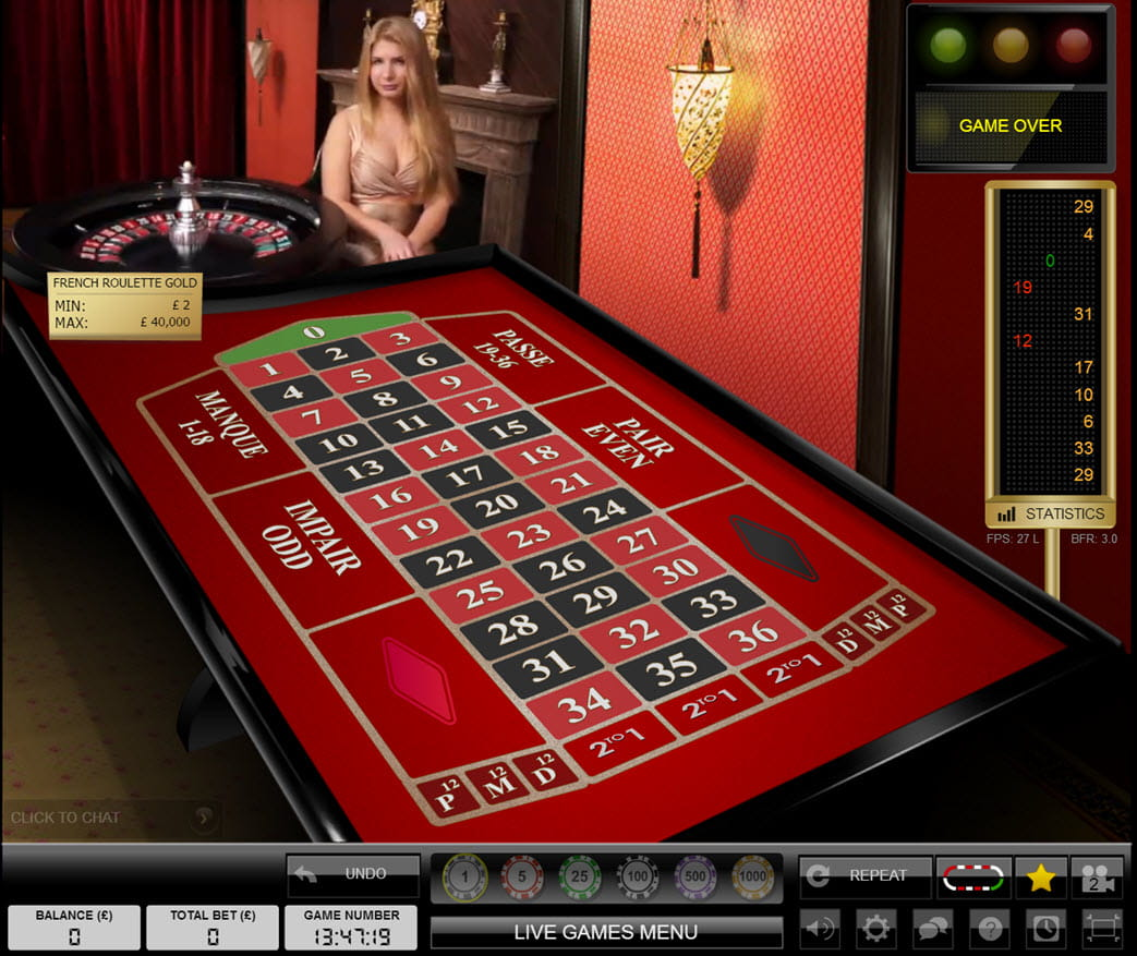 Play French Roulette Online at Casino.com UK