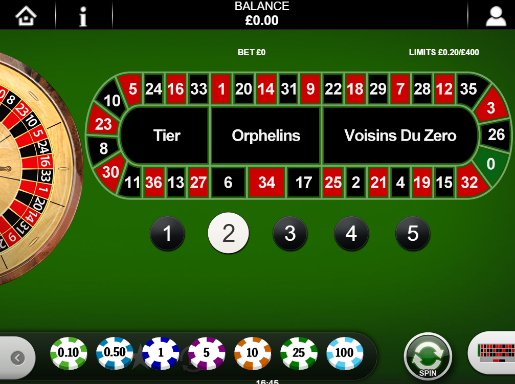 Play Classic Roulette